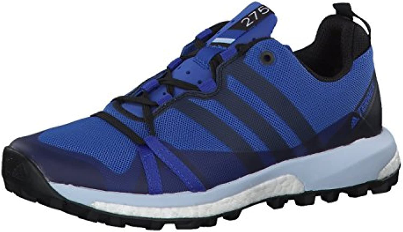 adidas Terrex Damen Trail Laufschuhe Agravic Hi-Res Blue s18/core Black/Grey One f17 36
