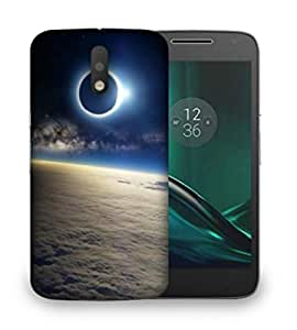 Snoogg Planet View Designer Protective Phone Back Case Cover For Motorola Moto G4