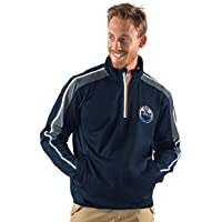 NHL Herren Synergy Half Zip Pullover Jacke, herren, G-III Sports Synergy Half Zip Pullover, navy, Medium