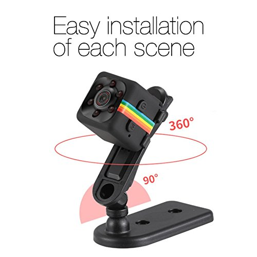 Mini Versteckte Kamera Tolina Full HD 1080P DV DC Mini Camera with Night Vision and Motion Detection for Home Security Wireless-spion-kamera-uhr
