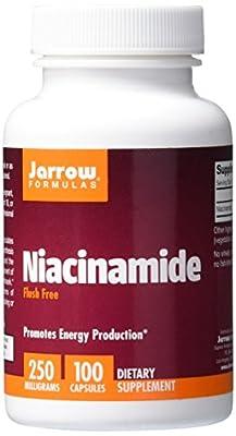 Jarrow Niacinamide Flush Free (250mg, 100 Capsules) from Jarrow FORMULAS