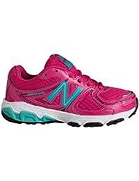 New Balance KJ680YPKY - Zapatillas para niña, color rosa / turquesa / blanco