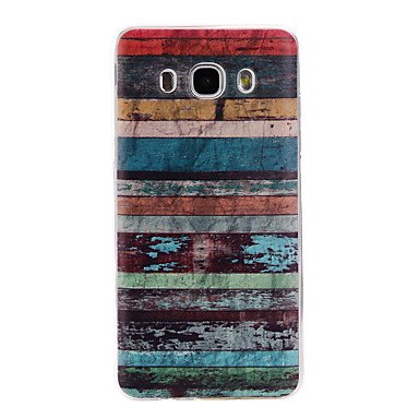 Handy schützen, Rückseite Muster Stripes/Ripples TPU Weich Fall-Abdeckung für Samsung Galaxy J7 (2016) / J5 (2016) / J3 (2016) für Samsung (Kompatible Modellen : Galaxy J5(2016)) Samsung Stripe