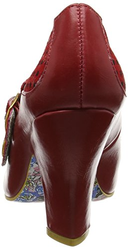 Irregular Choice - Wadas Wish, Scarpe col tacco Donna Rosso (rosso)