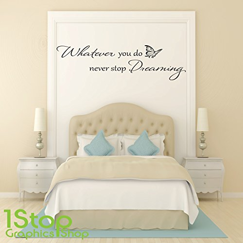 1stop-graphics-shop-never-stop-dreaming-wall-sticker-quote-bedroom-lounge-wall-art-decal-x148-colour