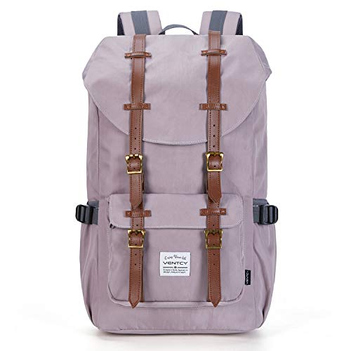 VENTCY Rucksack Herren 15 Zoll Laptop Rucksack Vintage Rucksack Uni Damen Daypack Wasserabweisend Backpack für Freizeit Outdoor Reise