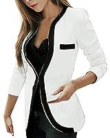 ZANZEA Women's Sexy Casual Long Sleeve Slim OL Business Jacket Suit Top Blazer Outerwear