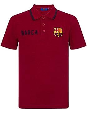 FC Barcelona - Polo oficial para niño - Con el escudo del club - Azul