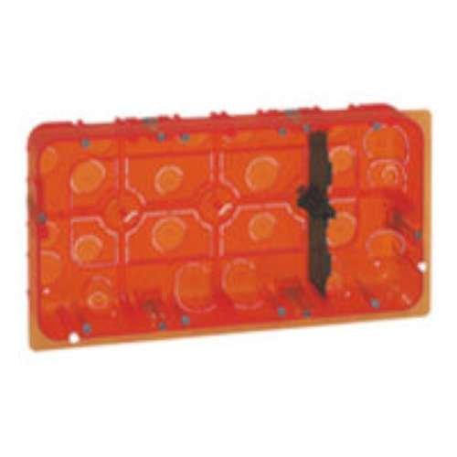 boite, multimateriaux, batibox, grand, format, pour, mosaic, 2x10, mod, prof, 50, legrand, leg080128