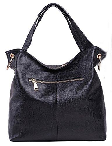 Leder neuer Stil Damen Handtaschen, Hobo-Bags, Schultertaschen, Beutel, Beuteltaschen, Trend-Bags, Velours, Veloursleder, Wildleder, Tasche Himmelblau Keshi