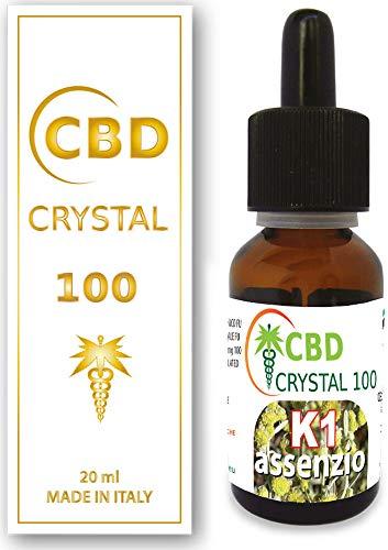 E-Líquido Sabor assenzio CBD + kudzu - 20ml sin THC