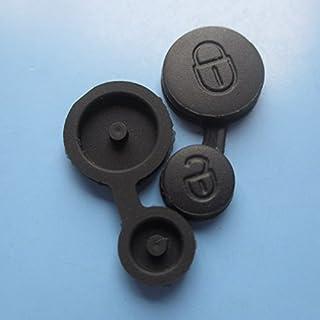 INION CITROENKS26- Ersatz Gummipad mit 2 Tasten ERSATZTASTE Tastenfeld Gummitasten für Auto Schlüssel Schlüsselgehäuse CITROEN (KS26)