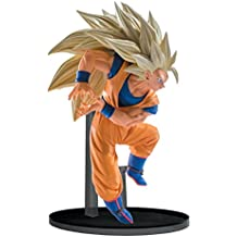 Banpresto Dragon Ball Z Super Saiyan 3 Goku Vol. 6 SCulture Big Budokai Statue Figure