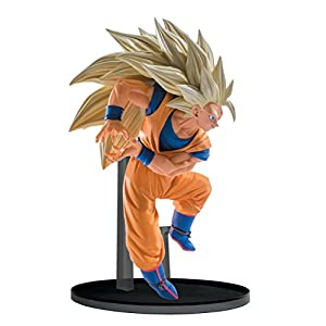 Banpresto Dragon Ball Z Super Saiyan 3 Goku Vol. 6 SCulture Big Budokai Statue Figure 9