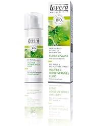 Lavera - Soins visage - Fluide lissant Menthe Bio pour peaux grasses et à problèmes - 30 ml