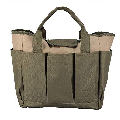 BESTT Garden Tool Storage Tote Bag - Multifunktionale robuste, langlebige, tragbare Aufbewahrungstasche für Gartenhandwerkzeuge -