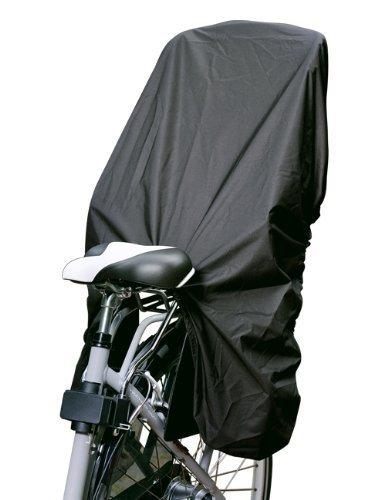 TROCKOLINO Regenschutz für Fahrrad-Kindersitz - schwarz