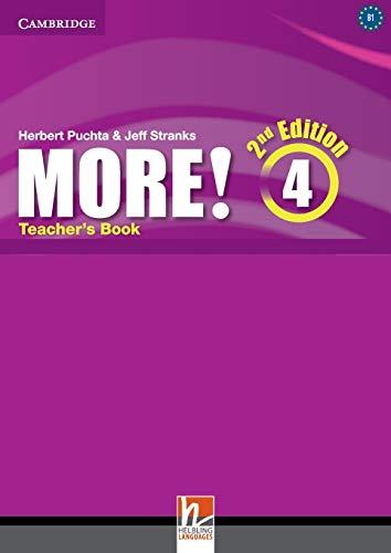 More! Level 4 Teacher's Book -