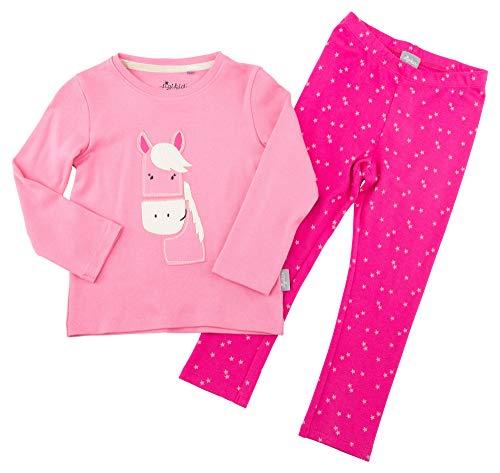 Sigikid Mädchen Pyjama, Mini Zweiteiliger Schlafanzug, Rosa (Pink (Aurora Pink 686) 686), 104