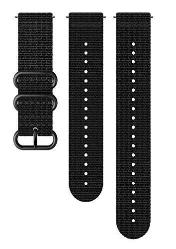 SUUNTO Uhrenarmband Zubehör, Unisex-Erwachsene Herren, 24mm Silicone, Black- Explore, 24mm ; M+L (130-240 mm) -