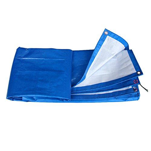 LFF- Tarpaulin wasserdichtes Hochleistungsblaues Mehrzweckplane-Blatt-im Freien Sonnenschutz-Sonnenschutz Plane 160g / ㎡ (größe : 2X3m)