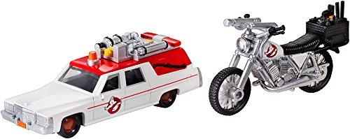 Hot Wheels DRW73 Ghostbusters Premium 1 und Ecto 2 Miniaturmodelle, 2-er Pack - Wheels-ecto 1 Hot