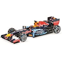 Minichamps 410169933 - Placa de toro rojo, 1:43, RB7 – Max Verstappen Snow Demonstration Run