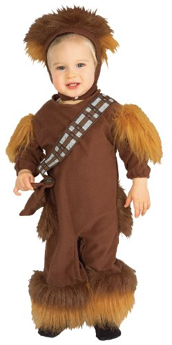 Original Lizenz Mini Chewbaccakostüm Kostüm Chewbacca Star Wars Clone Wars Strampler Gr. 92/98