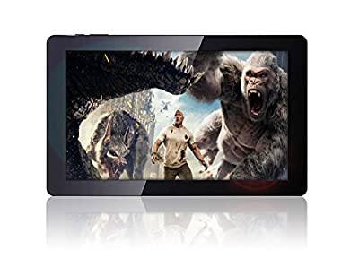 """Fusion5 8"""" Android Tablet PC - Android 7 Nougat, 803B Model, Quad-Core, 16GB Storage, 1GB RAM, Bluetooth 4.0, WIFI, 1280x800 IPS Display, Supports Micro SD Card, Google Certified Tablet PC"""