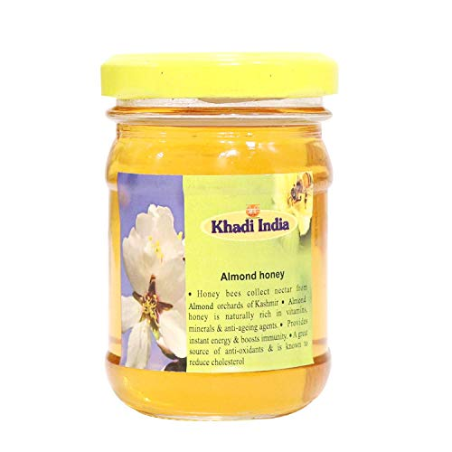 Khadi India Honey From Almond Orchards of Kashmir 1 kg