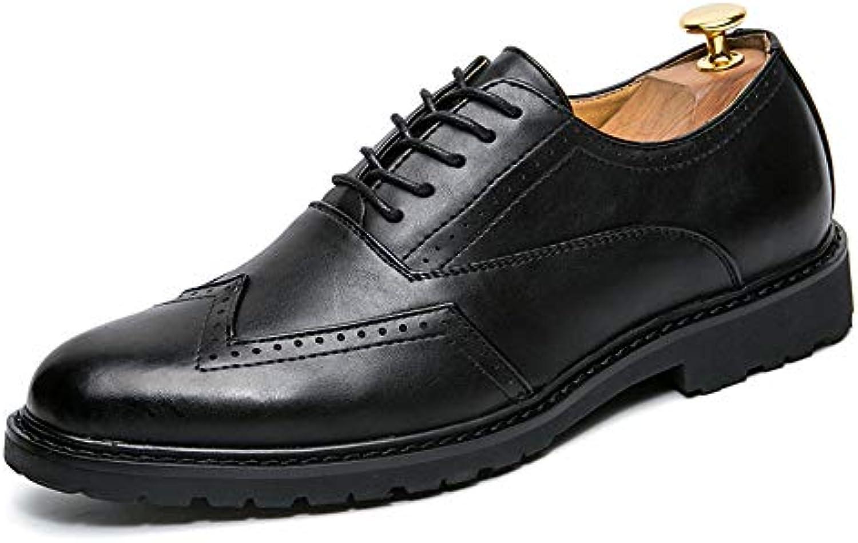 Business Casual da Uomo Oxford Fashion PU in Pelle Pelle Pelle Antiscivolo Traspirante Scarpe Brogue Scarpe da Cricket | Consegna veloce  | Uomini/Donne Scarpa  3b2a06