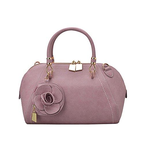 LAIDAYE Moda Fiori Antichi Messenger Shoulder Handbag 5