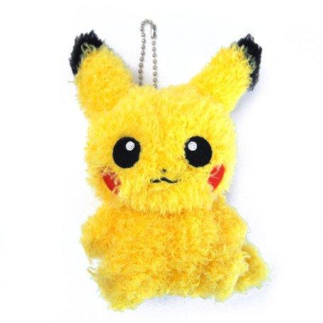 Cartoon Anime Pokemon Pikachu Plush Toy Fashion Creative Dark Pikachu Sitting Position Plush Doll Child Birthday Present Elegant In Smell Costumes & Accessories Costume Props