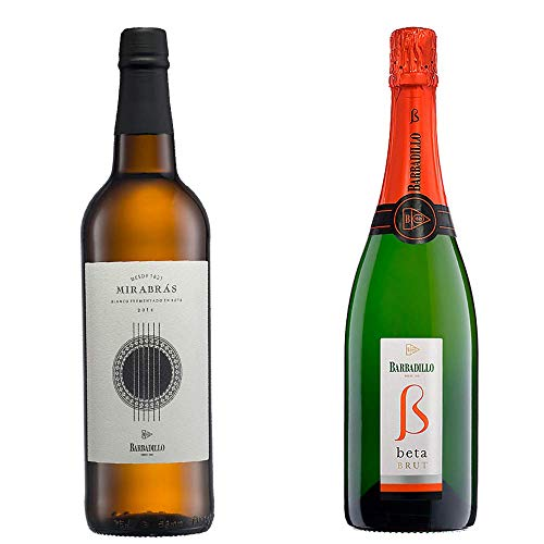 Mirabrás Y Beta Brut - Vinos De Barbadillo - 2 Botellas De 750 Ml