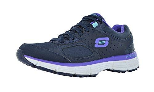 Skechers Agilty Ramp Up Womens Sneakers Navy/Purple