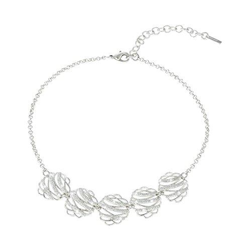 Gioielli+STROILI+etoile+collana+girocollo+donna+ip+silver+glitter+1622425