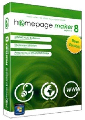 Homepage Maker 8 Express (Tagebuch Maker)