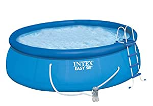 Kit piscine autoportante intex easy set x for Piscine intex amazon