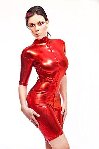 lack-latex-look-catsuit-overall-ganzanzug-kurz-rot-gr-xxl