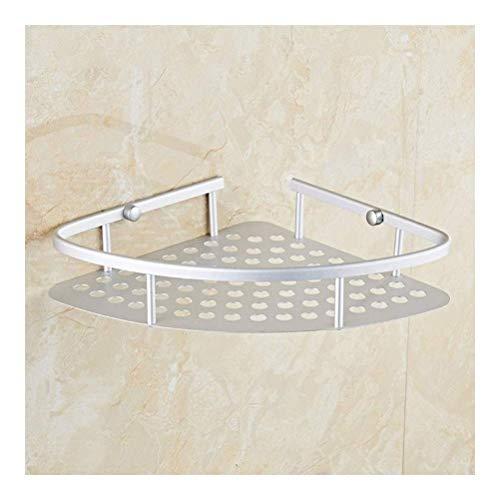 ATR Badezimmer Eckregal und Dusche Caddy Korb Edelstahl dreieckige Badewanne Wandhalterung poliert, 29 * 5 * 22cm YueB HBN