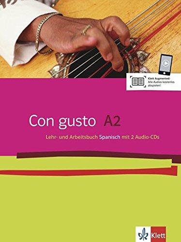 Con gusto A2: Lehr- und Arbeitsbuch + 2 Audio-CDs
