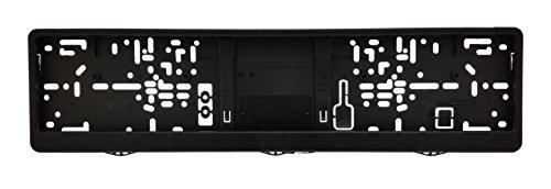 1 KFZ universal Kennzeichenhalter | Kennzeichenrahmen für Kennzeichen der Größe 460x110 mm