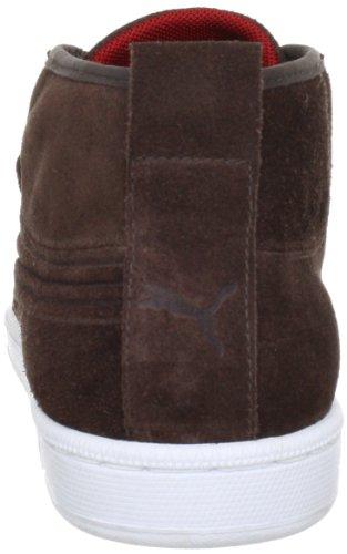 Puma, Hawthorne Mid, Scarpe sportive, Unisex - adulto Marrón (Braun/Chocolate Brown-White-Ribbon Red)