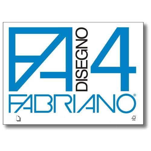 Fabriano F4 05000597 Album da Disegno Formato 24 x 33 Fogli Ruvidi Graatura 200gr/m2 20 Fogli