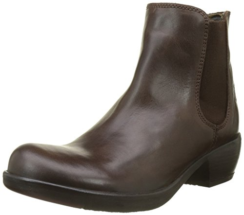 FLY London Damen MAKE Chelsea Boots, Braun (Dk Brown 019), 39 EU -