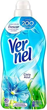 Vernel Suavizante Lavadora Concentrado Cielo Azul - 57 Lavados (1.31 L)