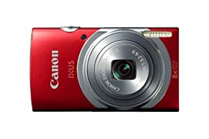 Canon IXUS 150 Point and Shoot Digital Camera - Red (16MP, 8x Optical Zoom) 2.7 inch LCD