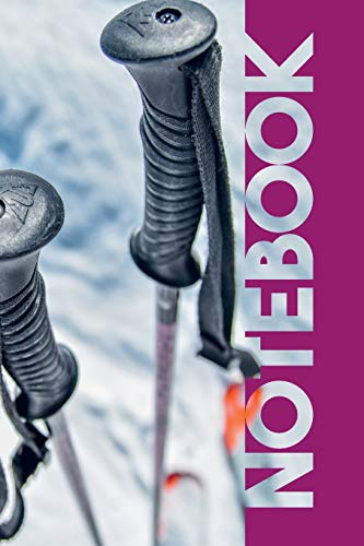 Notebook: Off Piste Convenient Composition Book for Ski Mountaineering and downhill skiing fans