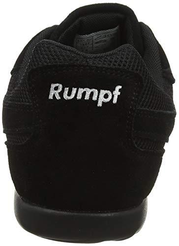 Rumpf Dance Sneaker Jive Tanzschuhe Tanzen Damen Sport Fitness schwarz 41 - 2