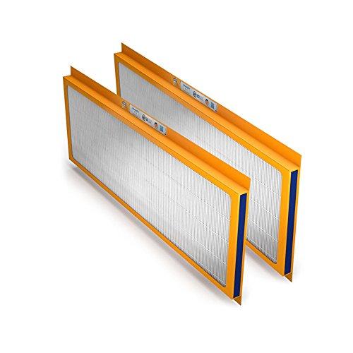 Swirl Ersatzfilter-Set, (G4 + F7) für Zehnder ComfoAir 350/500/550, ComfoD 350/450/550, ComfoBox, ComfoFond-L Eco, Paul SANTOS (F)370/570DC (cool), Sole Defroster SD350/550